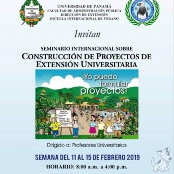 Seminario Internacional sobre Construcción de Proyectos de Extensión Universitaria