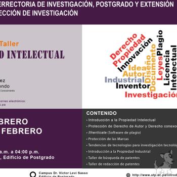 Seminario-Taller sobre Propiedad Intelectual