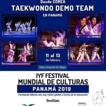 IYF Festival Mundial de Culturas Panamá 2019