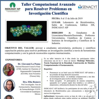 Taller Computacional Avanzado para Resolver Problemas de Investigación Científica
