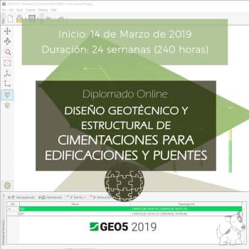Diplomado Online en Diseño Geotécnico y Estructural de Cimentaciones para Edificaciones y Puentes