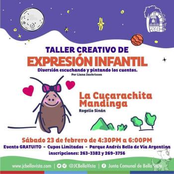 Taller creativo de expresión infantil
