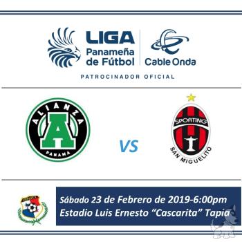 Alianza Vs Sporting San Miguelito