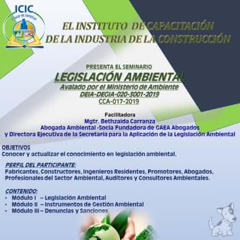 Seminario Legislación Ambiental