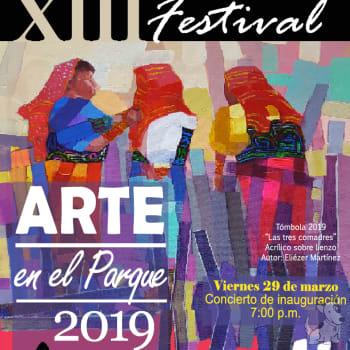 XIII Festival arte en el parque 2019