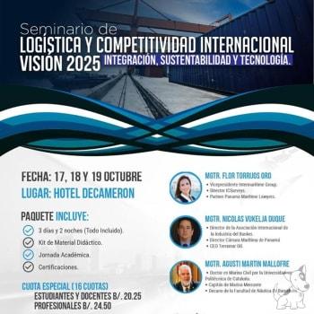 Seminario Logística y Competitividad Internacional Visión 2025 Integración, Sustentabilidad y Tecnología