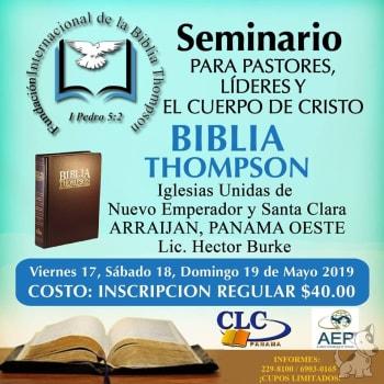 Seminario para pastores, lideres y el cuerpo de Cristo