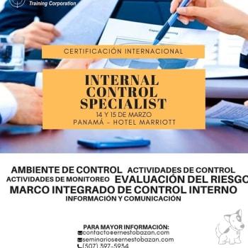 Certificación Internal Control Specialist