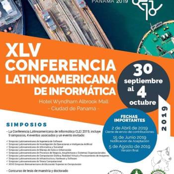 XLV Conferencia Latinoamericana de Informática