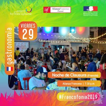 Francofonía 2019 - Gastronomia