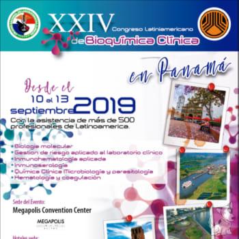 XXIV Congreso Latinoamericano de Bioquímica Clínica
