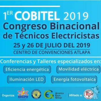 1er Congreso Binacinoal de Técnicos Electricistas
