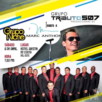 Tributo a Marc Anthony y Grupo Niche