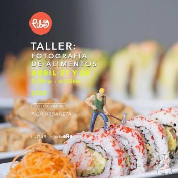 Taller: Fotografía de Alimentos