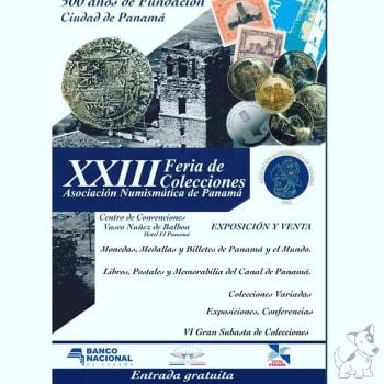 XXIII Feria de Colecciones Asociación Numismatica de Panamá