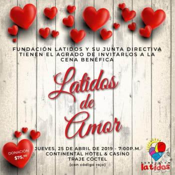 """Cena Benéfica """"Latidos de Amor"""""""