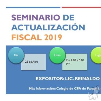 Seminario de actualización fiscal 2019