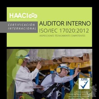Certificación Internacional Auditor Interno ISO/IEC 17020:2012