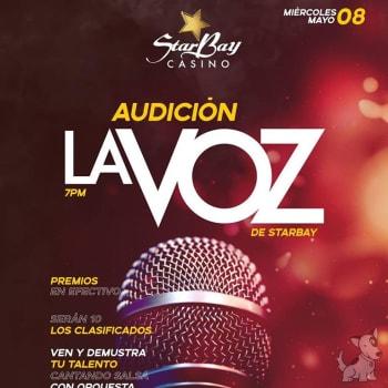 """Audicion """"La Voz de StarBay"""""""