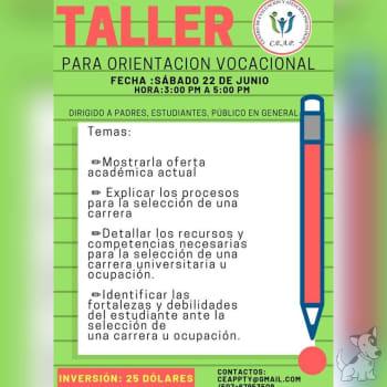 Taller de Orientación Vocacional