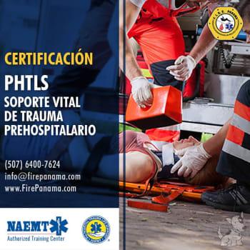 Certificación PHTLS Soporte Vital de Trauma Prehospitalario