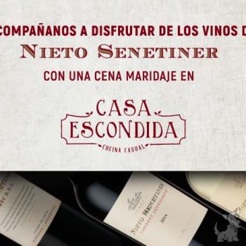Cena maridaje con vinos Nieto Senetiner