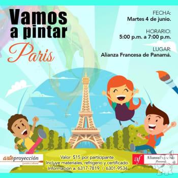 Vamos a pintar París