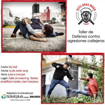 Taller de defensa contra agresiones callejeras