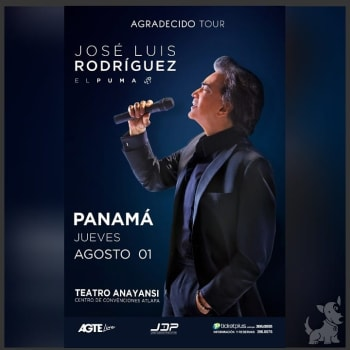 Jose Luis Rodriguez - Agradecido Tour