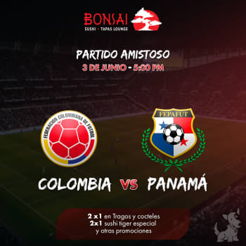 Colombia vs Panamá