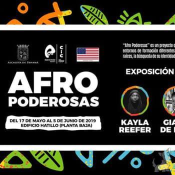 """Exposición de arte """"Afro Poderosas"""""""
