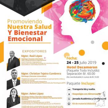 """Seminario-Taller de Psicología """"Promoviendo Nuestra Salud y Bienestar Emocional"""""""