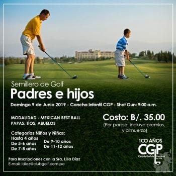 Semillero de Golf Padres e Hijos