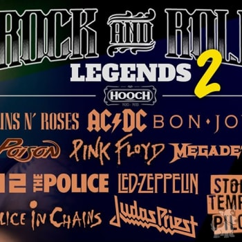 Rock & Roll Legends II - Tribute By: Edwin Benitez