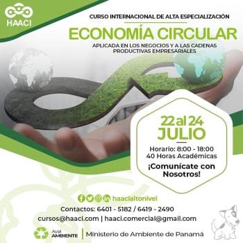 "Curso Internacio""Economía Circular"""