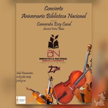 Concierto Aniversario Biblioteca Nacional