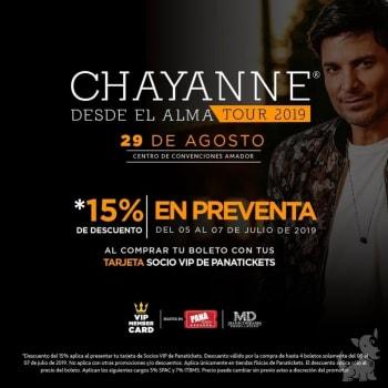 Chayanne - Desde el alma tour 2019