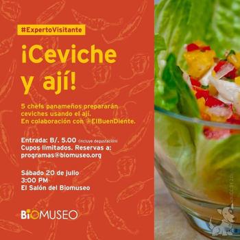 Ceviche y Ají