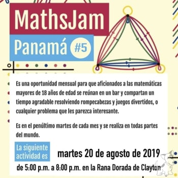 MathsJam en Panamá #5