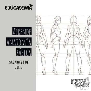 Taller de dibujo anatomía básica