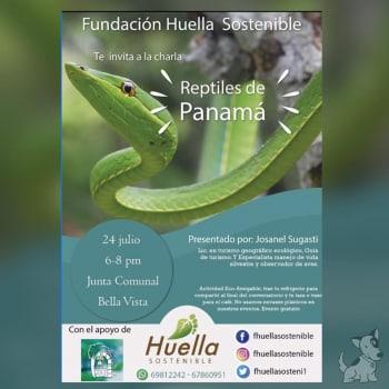 Charla: Los Reptiles de Panamá