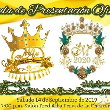 Gala De Presentación Oficial Reinas 2020