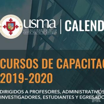 Cursos de Capacitación 2019-2020
