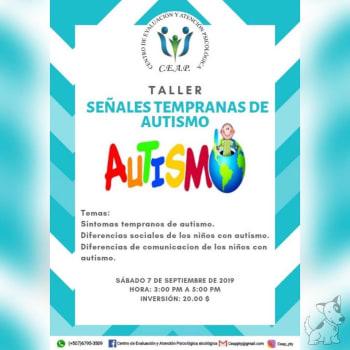 Taller: Señales tempranas de autismo