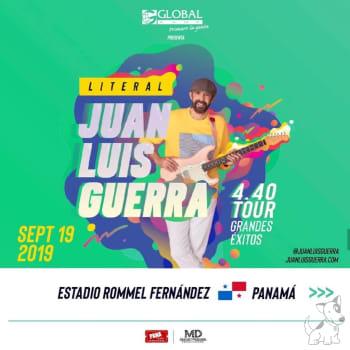 Juan Luis Guerra y 4.40 en su Literal Tour