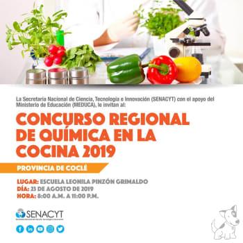 Concurso Regional de Química en la Cocina 2019