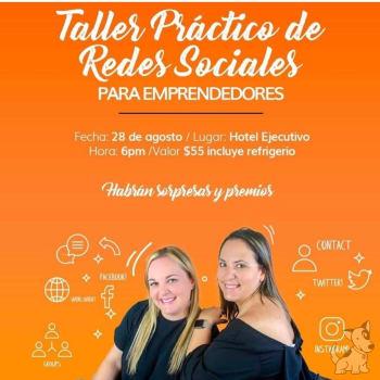 Taller práctico de redes sociales para emprendedores