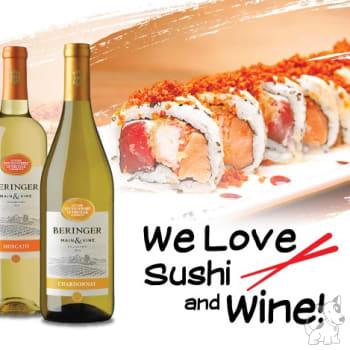 Cena maridaje - We love Sushi & Wine