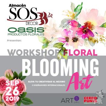 "Seminario-Taller de diseño floral ""Blooming Art"""