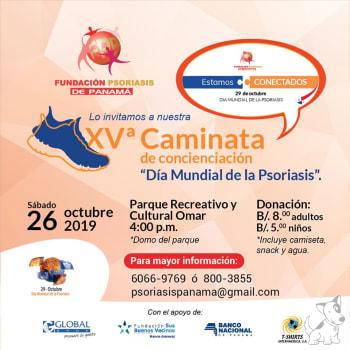 """XVª Caminata de Concienciación """"Día Mundial de la Psoriasis"""""""